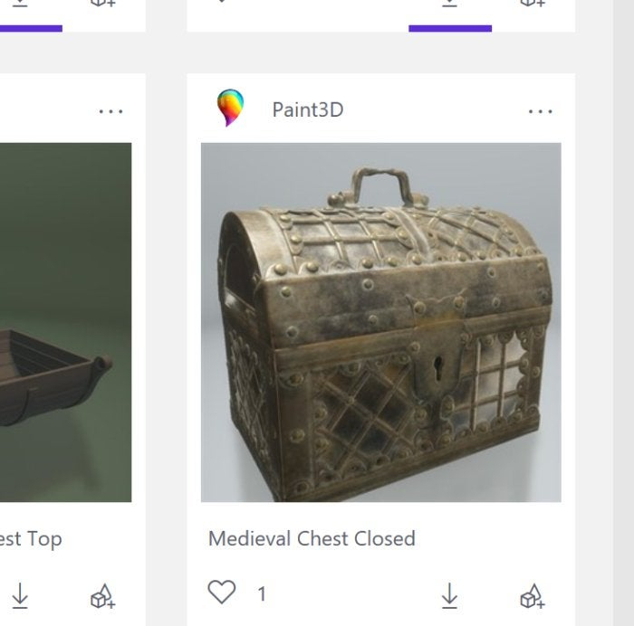 paint3d treasure chest
