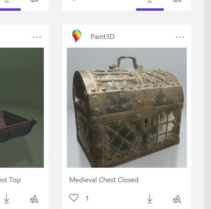 paint3d treasure chest