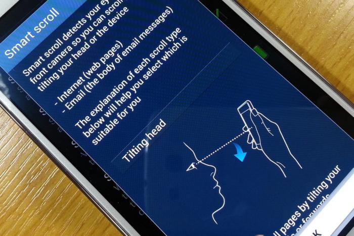 phone gimmicks smart scroll