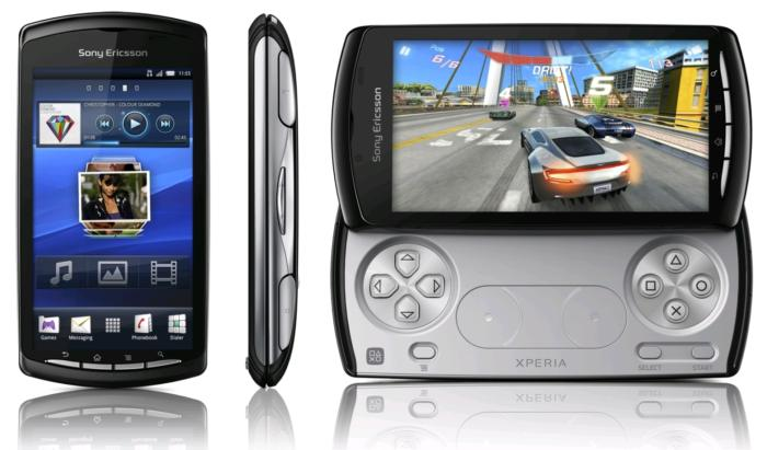 Sony Ericsson Xpeira Play gamepad