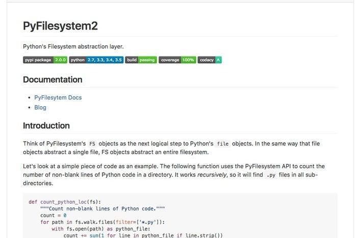 PyFilesystem