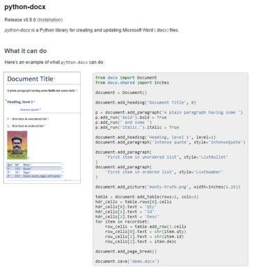 Python-docx