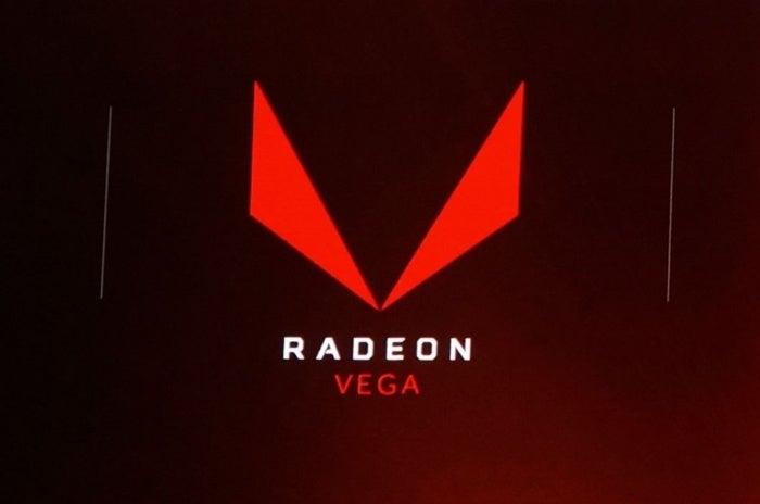 radeon vega logo graphics card design revealed at amds