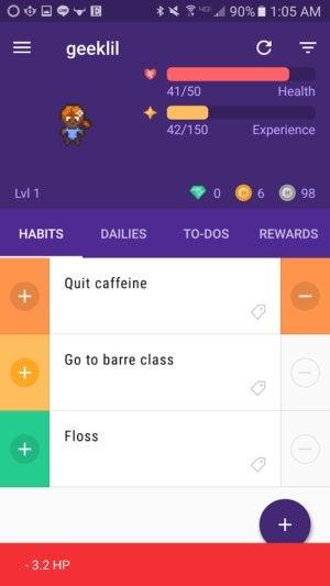 resolutions apps habitica