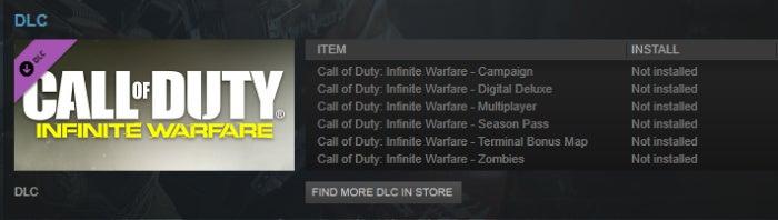 Call of Duty: Infinite Warfare install