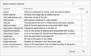 smart folder other criteria