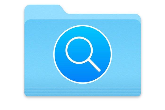 smart folder spotlight macos
