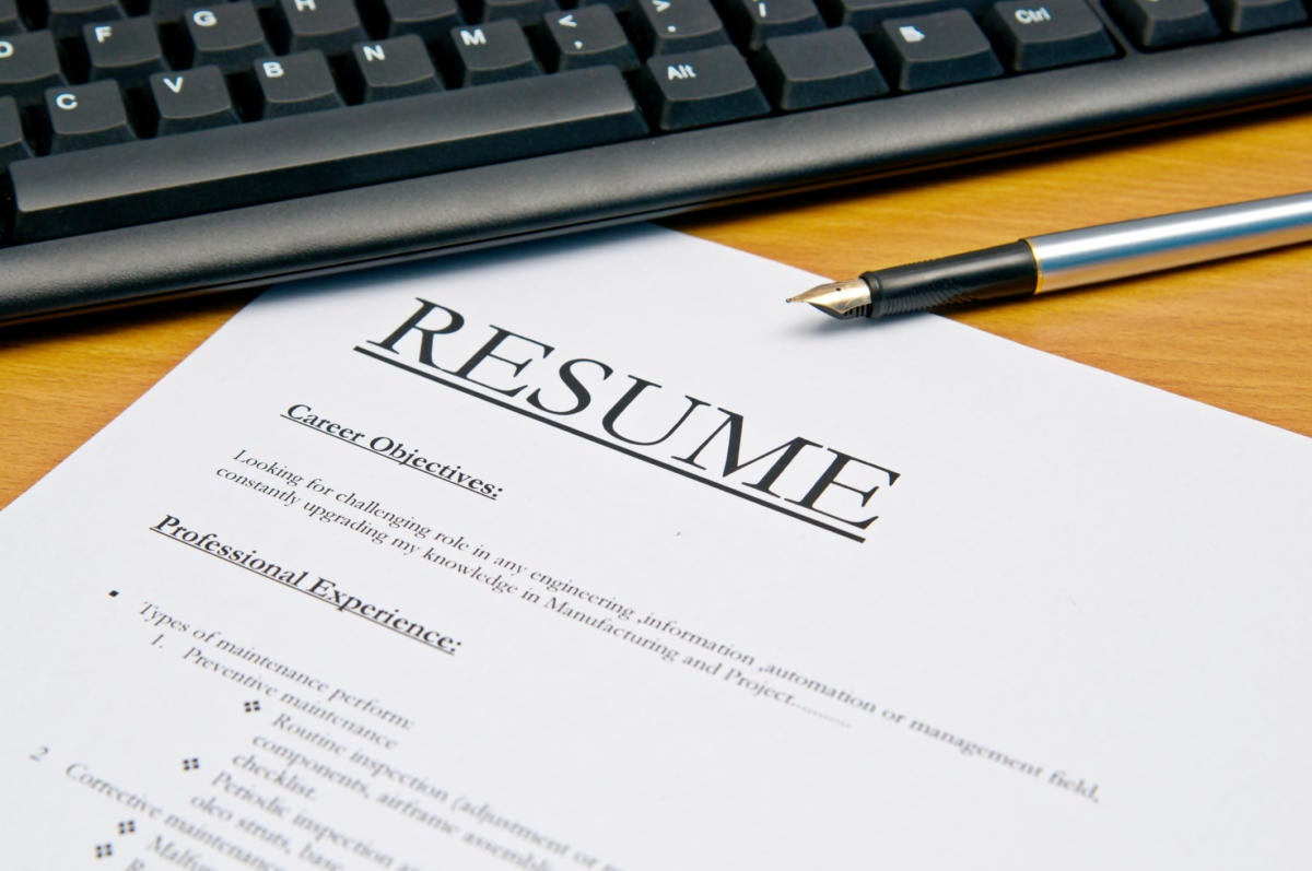 Resume Tips For Aspiring Executives  Cio