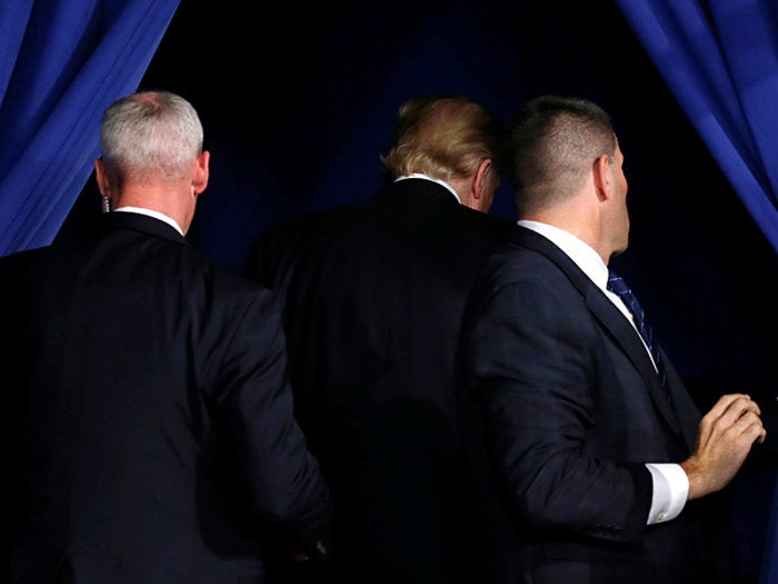 trump secret service