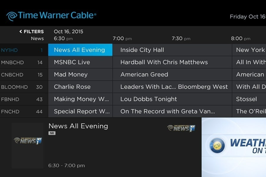 Time Warner Cable App Issues:  TechHiverh:techhive.com,Design