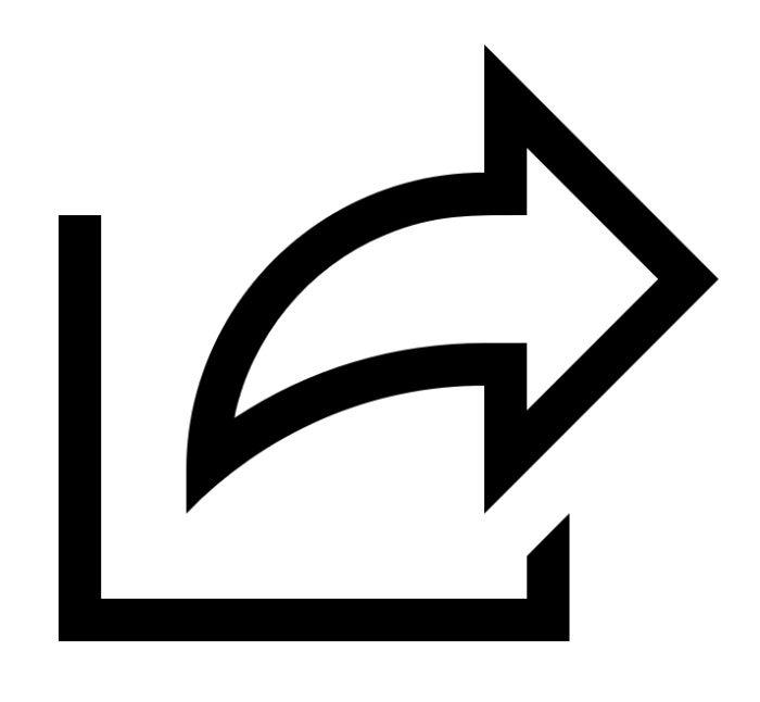 windows 10 share icon