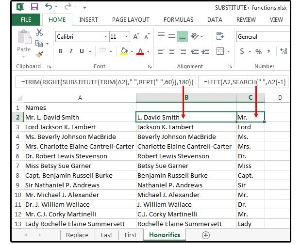 Excel-Funktionen: 7 Möglichkeiten, Textfunktionen zu verwenden, um Daten