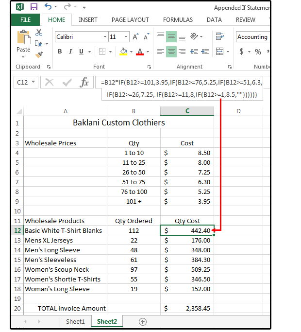 06 calculate product prices based on quantity