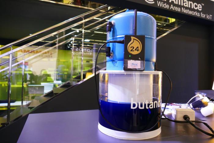 20170302 butano24 butane tank at mwc 2017