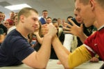 arm wrestling head to head competition