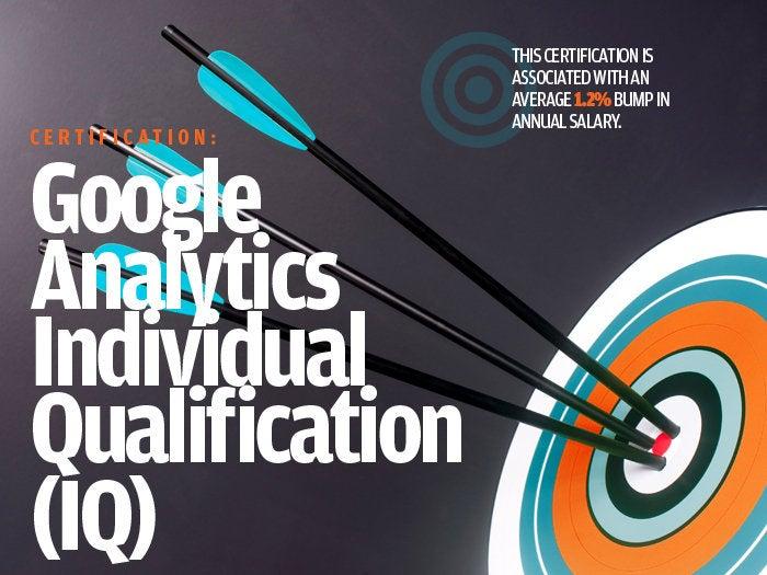 Google Analytics Individual Qualification (IQ)