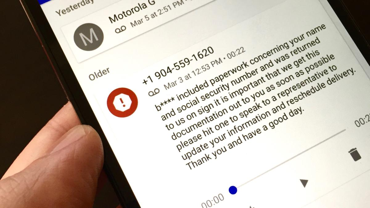Let Android warn you about spam callers