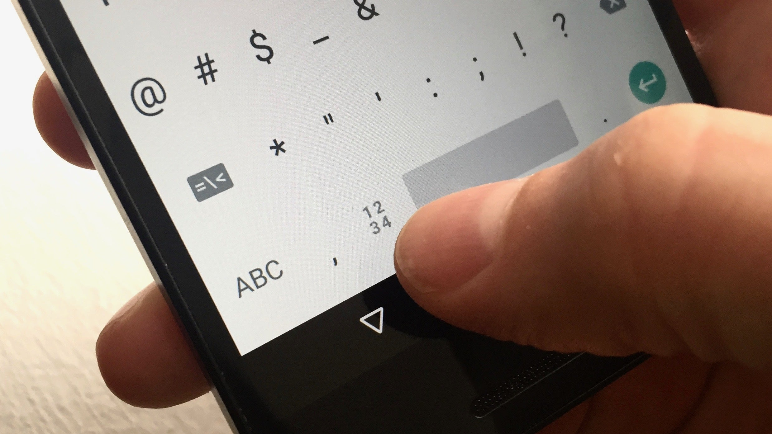9 nifty gboard for android tricks you need to try pcworld get the numeric keypad whenever you want biocorpaavc Images
