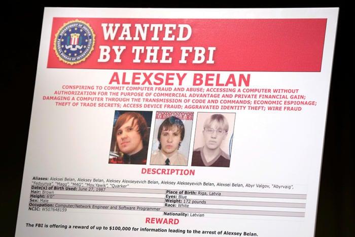 alexsey belan russia yahoo hack fbi