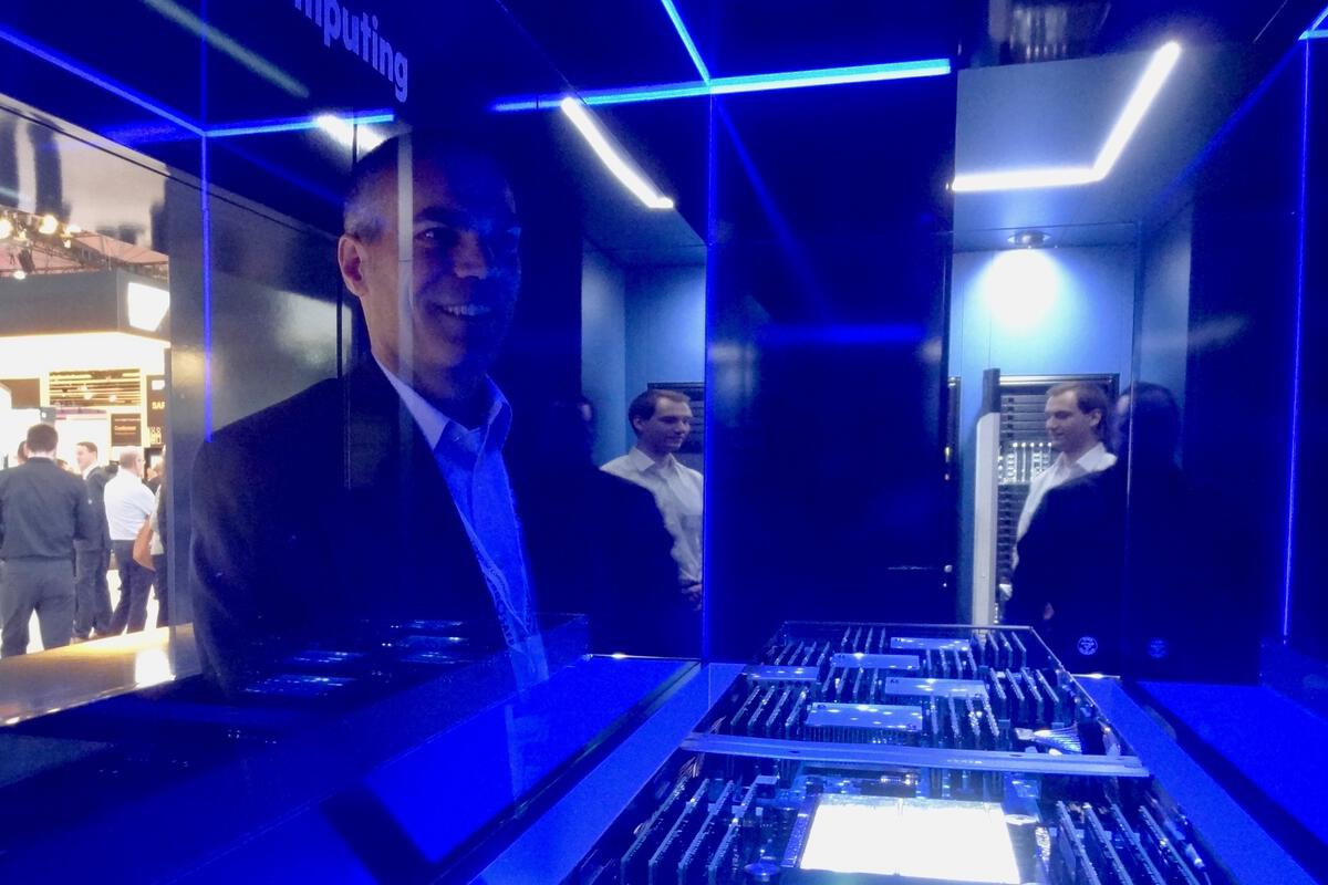 The goal of HP's radical The Machine: Reshaping computing around memory