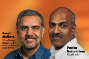 Aruba's top execs talk new tech, IoT and the competition
