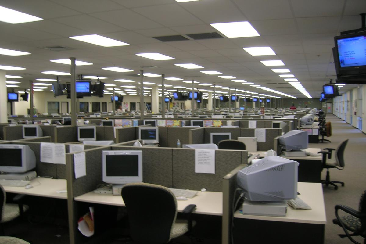 call center help desk Wikimedia