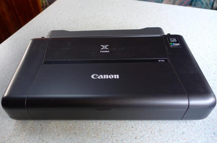 canon pixma ip110 closed