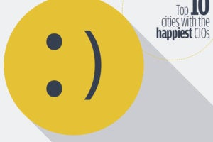 cities with happiest cios