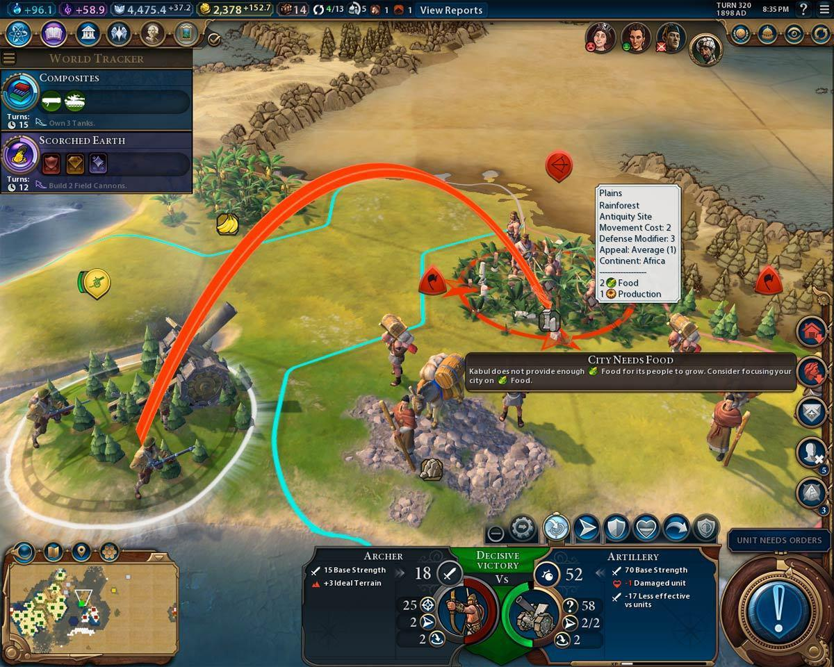 Civilization Vi Review World Domination On Your Mac Macworld