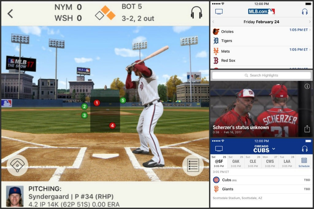 The Week in iOS Apps: MLB At Bat's update for the 2017