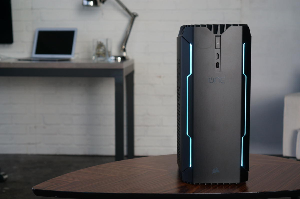 Corsair One review: Small, fast, and surprisingly quiet