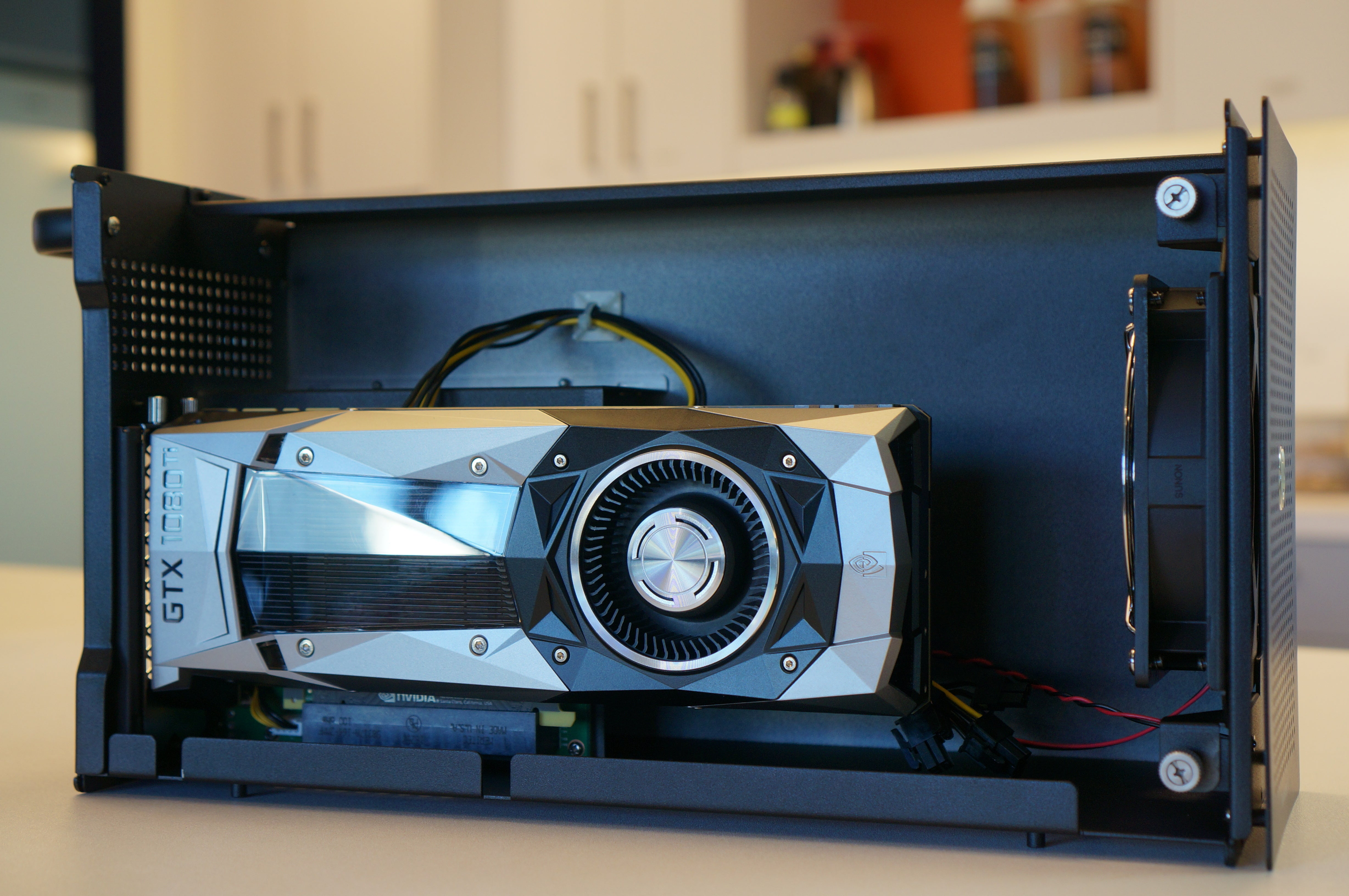 Want cheap external graphics on your laptop? Consider Akitio's Node