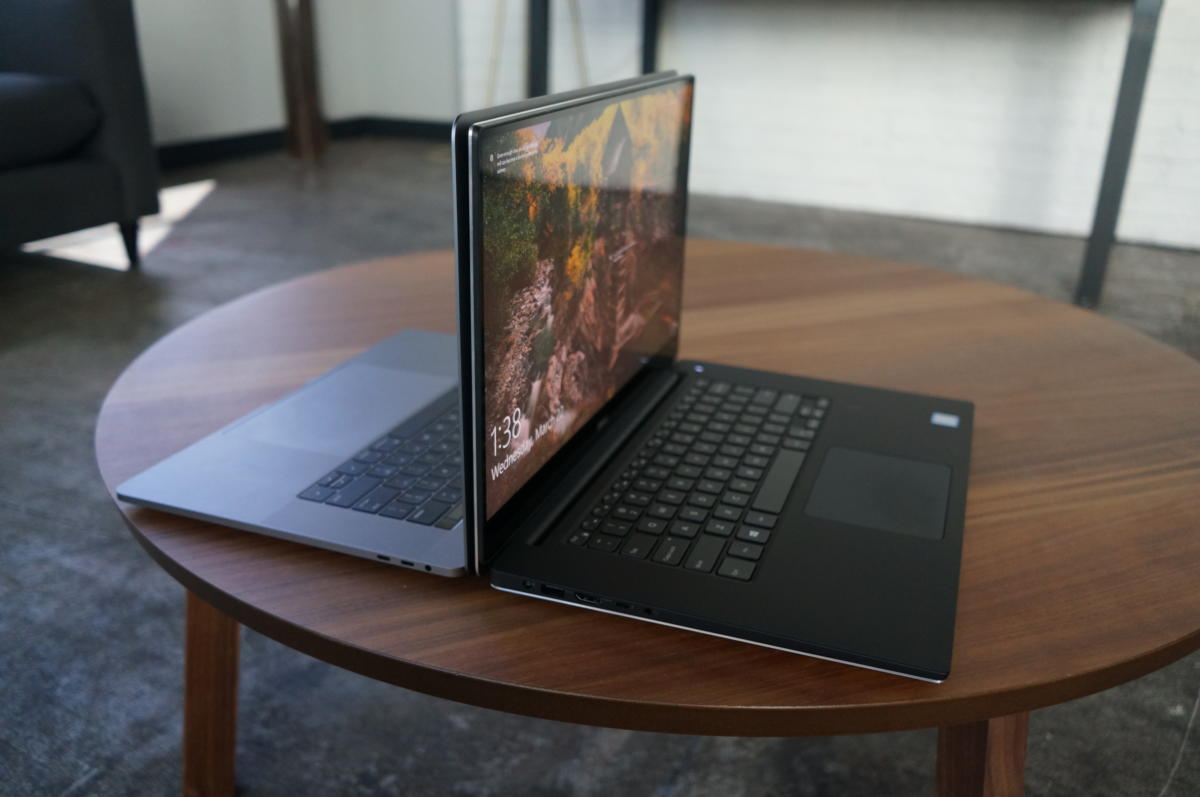 New MacBook Pro 15 vs. New XPS 15