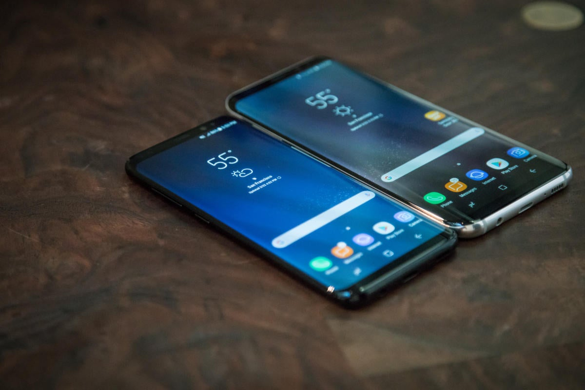 Samsung launches Galaxy S8 and S8 Plus with voice-assistant tech Bixby