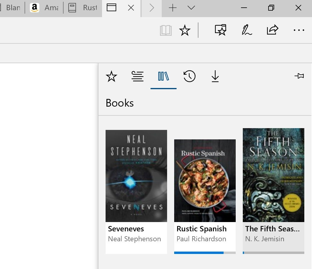 How to buy and read ebooks in edge as part of the windows 10 microsoft edge books fandeluxe Gallery