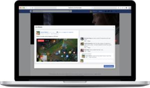facebook live game streaming
