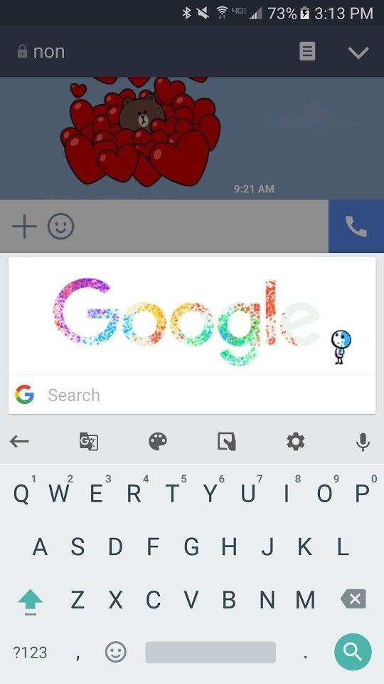 google apps gboard