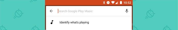 Google Play Music - Identify