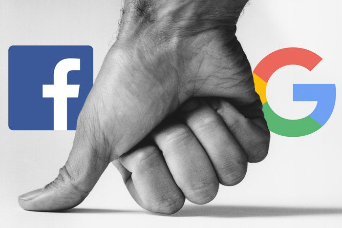Image result for google and facebook