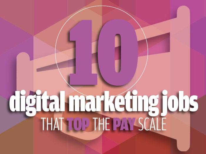highest paying marketing jobs