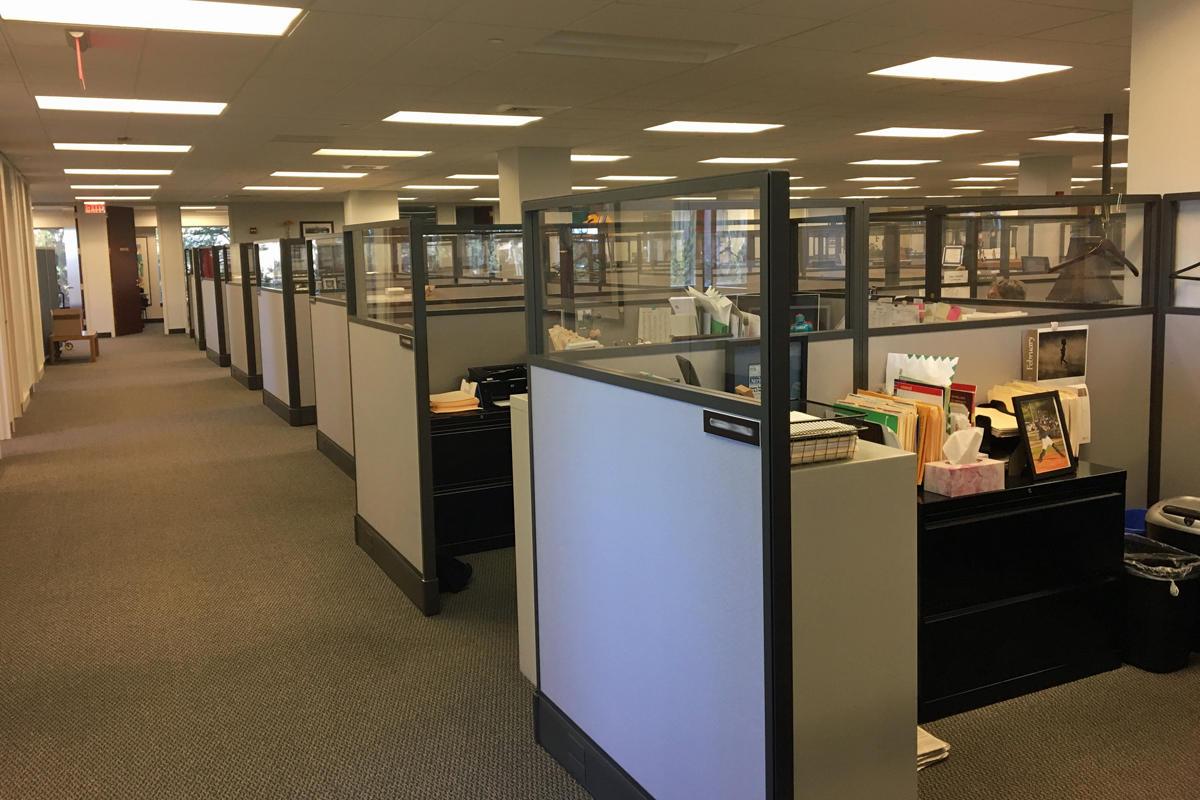 IDG Enterprise editorial cubicles