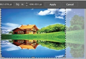 Illustrator CC 2017 now lets you crop an image within the app.