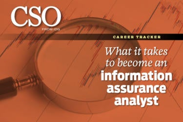 information assurance analyst cover