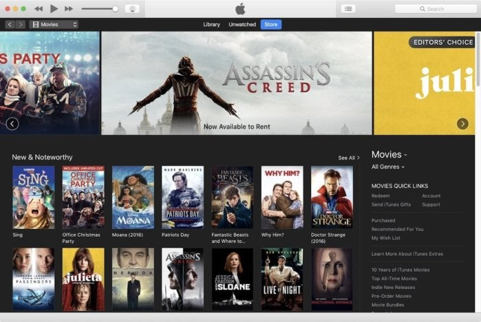 how to watch rented itunes movie on ipad