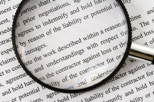 magnifying glass contract