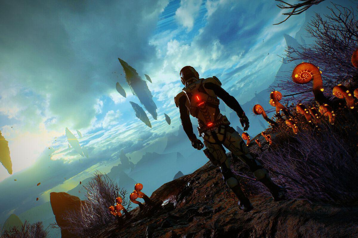 Why I'm addicted to Mass Effect: Andromeda's gorgeous, secret Nvidia super-screenshots