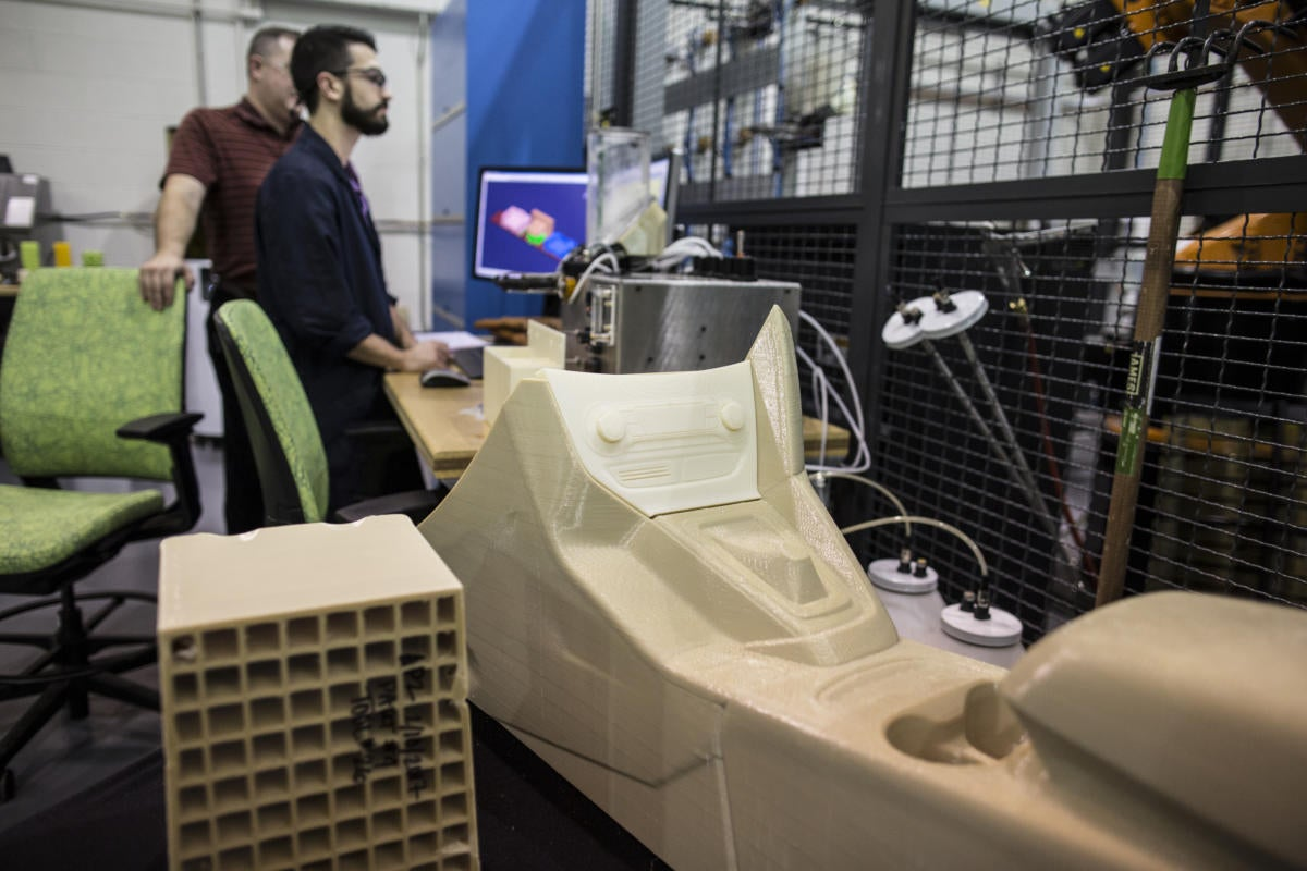 Ford tests 3D printer that can manufacture car parts of any size and