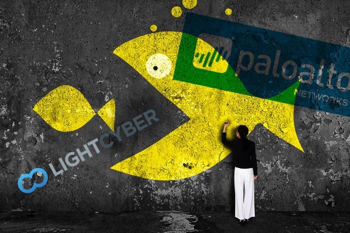 merger palo alto light cyber
