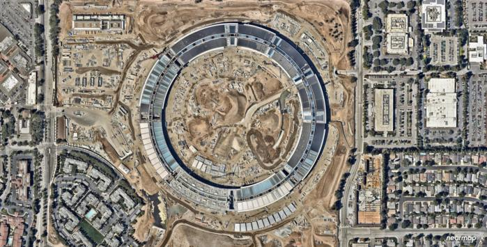 nearmap apple park epsg3785 date20160802 lat37.334726 lon 122.008685