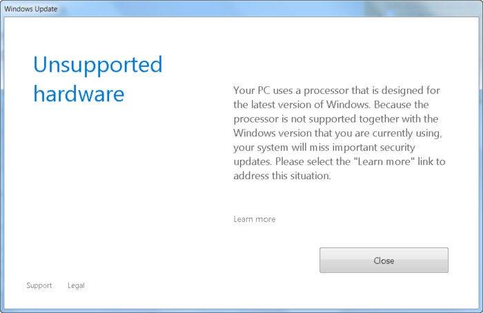 no more windows 7 updates
